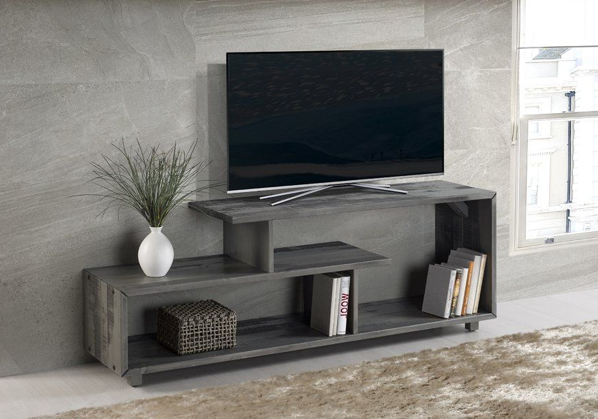 "Best And Newest Laurent 50 Inch Tv Stands In Wrought Studio Carrasco Tv Stand For Tvs Up To 50"" In  (View 3 of 20)"