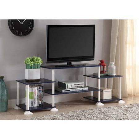 Best And Newest Mainstays 40 Inches Contemporary Plasma/lcd Tv Stand Entertainment Pertaining To Tv Stands 40 Inches Wide (View 12 of 20)