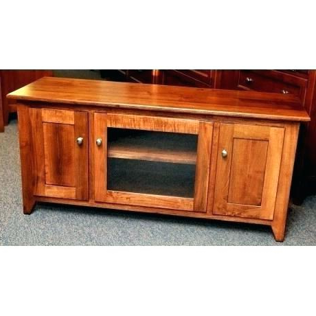 Best And Newest Maple Wood Tv Stand Maple Stand Shaker Console Style Stand Units Within Maple Wood Tv Stands (View 5 of 20)