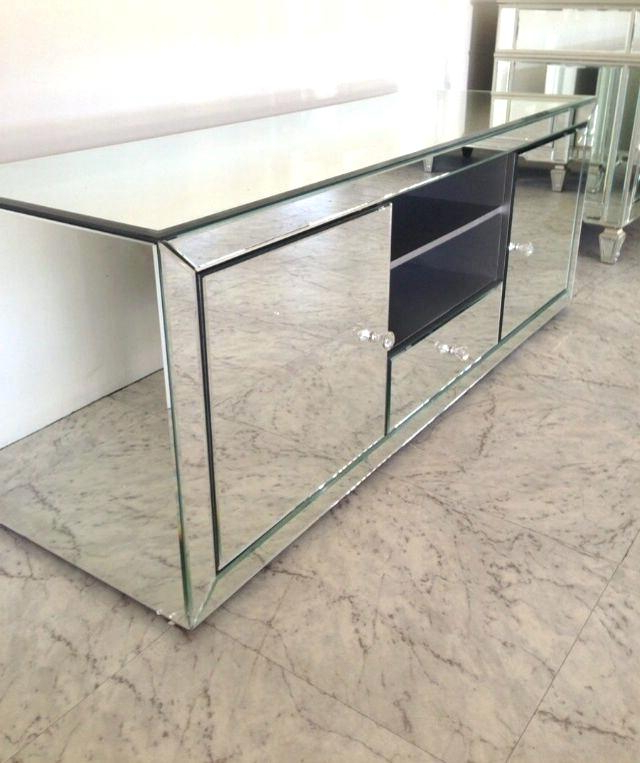 Best And Newest Mirrored Tv Stand Furniture Stand – 40S.co Inside Mirrored Tv Cabinets Furniture (Gallery 5 of 20)