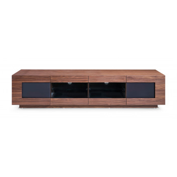 Best And Newest Modern Entertainment Centers – Durable Tv Stands And Tv Consoles Regarding Modern Walnut Tv Stands (View 9 of 20)