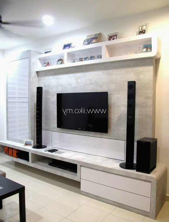 Best And Newest Modern Tv Cabinets Designs With 50 Tv Cabinet Designs For Your Living Room (View 2 of 20)