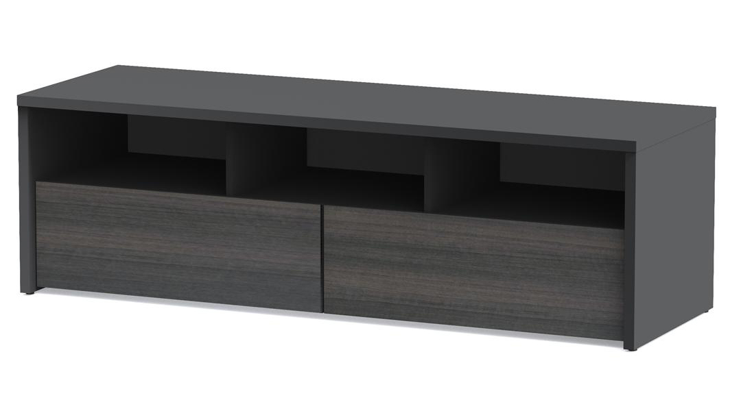 Best And Newest Nexera Sereni T 60 Inch 2 Drawer Tv Stand Nx 210406 At Homelement Regarding Nexera Tv Stands (Gallery 10 of 20)