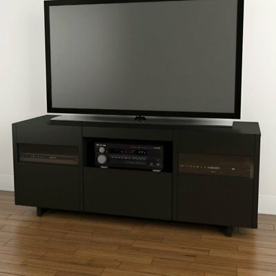 Best And Newest Nexera Vision 60 In. Tv Stand – Black, 65 – $ (View 5 of 20)