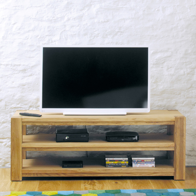 Best And Newest Oak Widescreen Tv Units Inside Sherwood Oak Widescreen Tv Cabinet – Robson Furniture (Gallery 2 of 20)