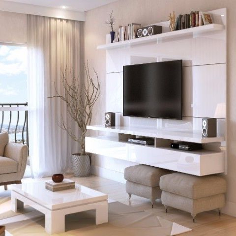 Best And Newest Off Wall Tv Stands Throughout City  (View 1 of 20)