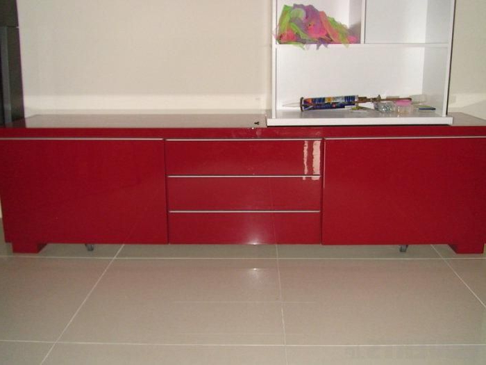 Best And Newest Red Gloss Tv Stands (View 5 of 20)