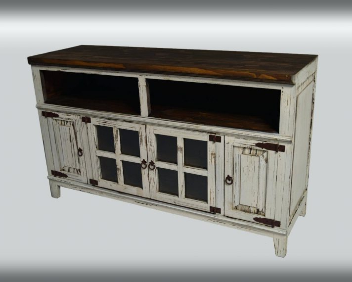 Best And Newest Tv Stand : Farmhouse Console Media Rustic With Regard To Cabinets Throughout Rustic Tv Cabinets (Gallery 14 of 20)