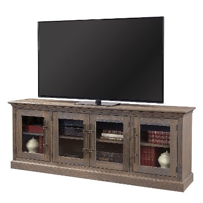 Best And Newest Willa 80 Inch Tv Stands Within 80 Inch Distressed White Tv Stand – Prisma (Gallery 6 of 20)
