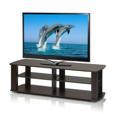 "Best And Newest Wooden Tv Stands For 55 Inch Flat Screen Within Tv Stands For Flat Screens 42"" – 55"" Inch Wood Storage Media Console (Gallery 12 of 20)"