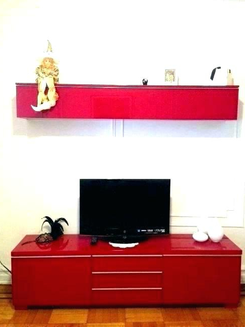 Black And Red Tv Stands With Famous Red Gloss Tv Stands – Lifeofabamagirl (View 5 of 20)