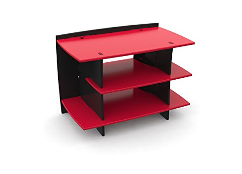 Black And Red Tv Stands Within Well Known Red Tv Stand Review (View 7 of 20)