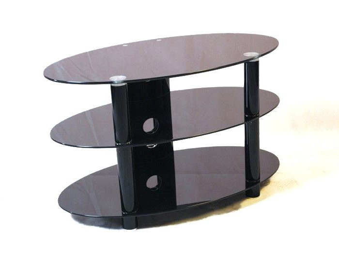 Black Glass Tv Stand Black Glass Stand Up To Siconic The Iconic Intended For Most Recent Iconic Tv Stands (View 1 of 20)