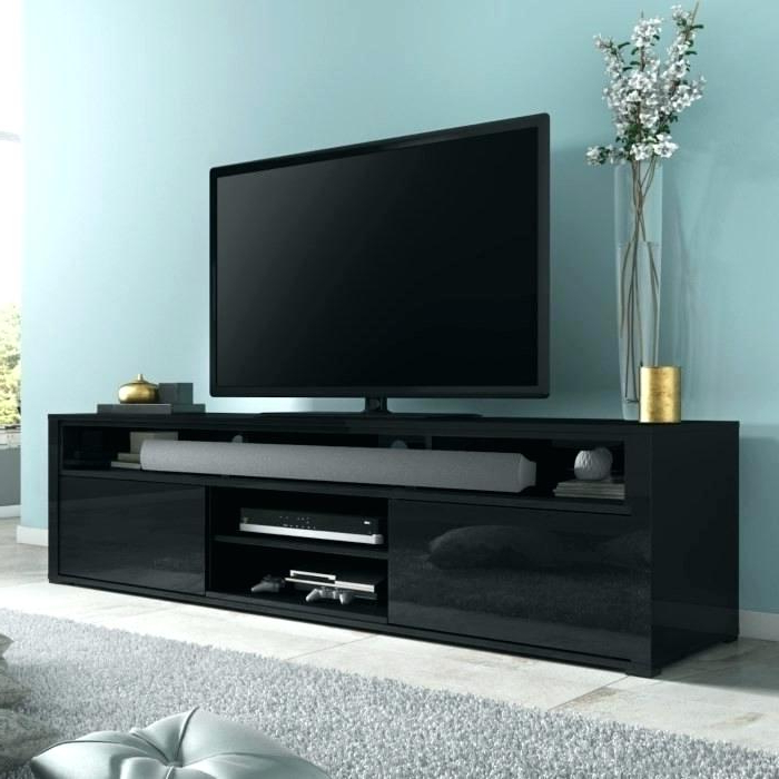 Black Gloss Corner Tv Stand With 2017 Black High Gloss Tv Stand High Gloss Black Stand Black High Gloss Tv (Gallery 17 of 20)