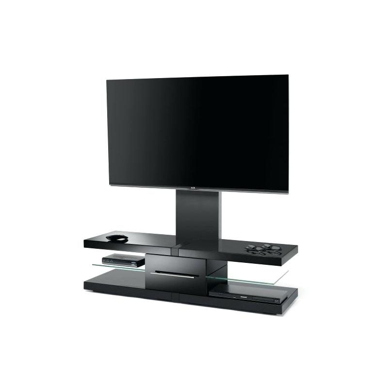 Black High Gloss Tv Stand Unit Cabinet Console Furniture Shelves 2 Inside Recent White Gloss Oval Tv Stands (Gallery 17 of 20)