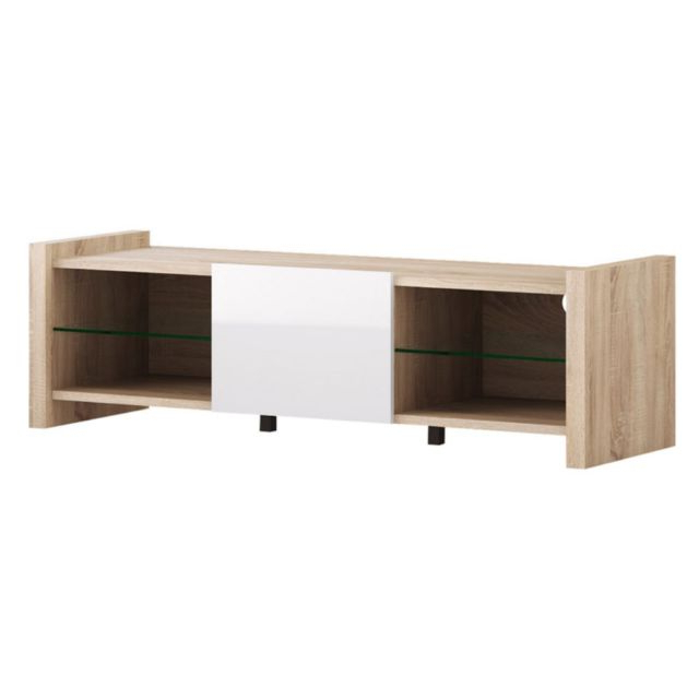 Black Red White Venom Mix Tv Stand Sonoma Oak 65 (Gallery 11 of 20)