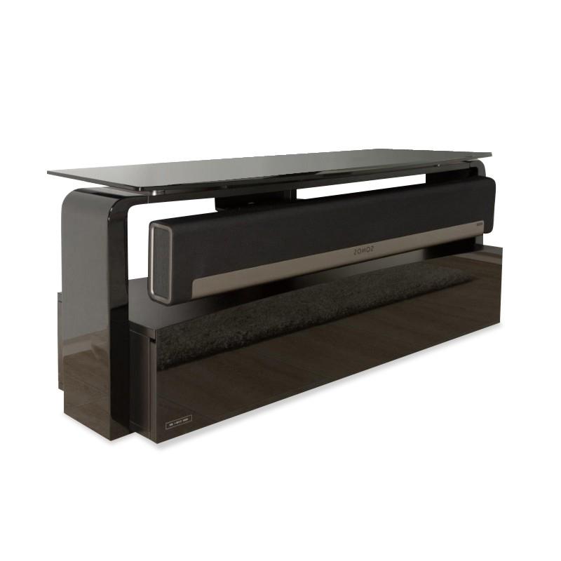 Black Sonos Playbar Tv Stand (Gallery 1 of 20)