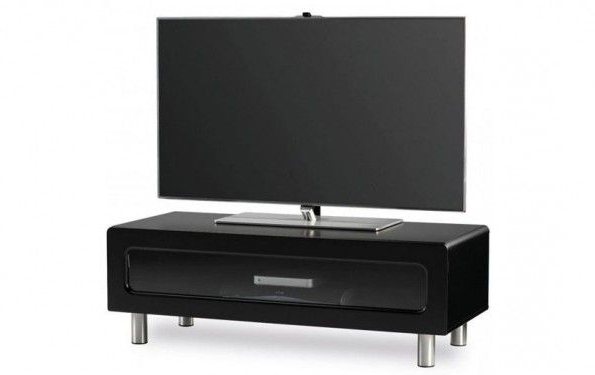 Black Tv Cabinets With Doors In 2017 5 Types Of Different Black Tv Stands With Glass Doors #tvstand (Gallery 17 of 20)