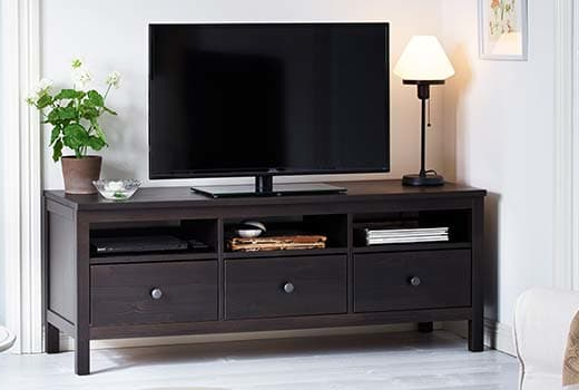 Black Tv Cabinets With Drawers Regarding 2018 Tv Stands & Entertainment Centers – Ikea (Gallery 9 of 20)