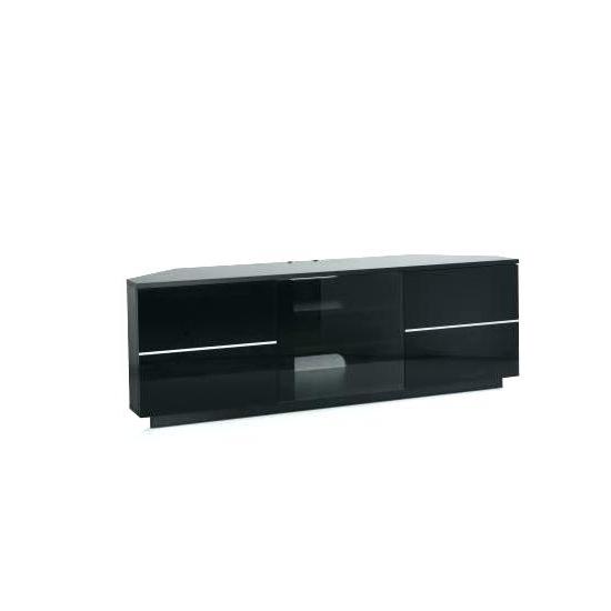 Black Tv Stand With Glass Doors – Splendidinfo In Recent Corner Tv Cabinets With Glass Doors (Gallery 6 of 20)