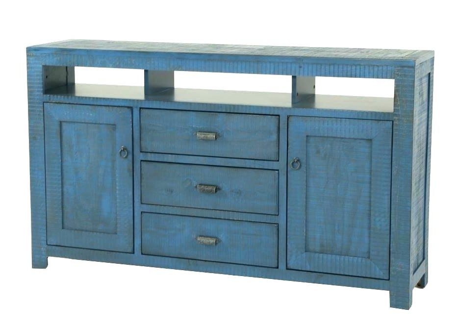 Blue Tv Stand Blue Tv Stand Canada Blue Tv Stand Wood – Annica (View 3 of 20)