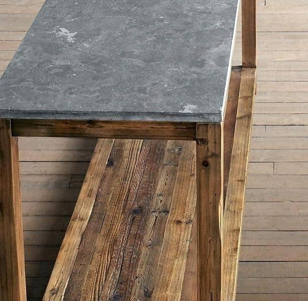 Bluestone Console Table Restoration Hardware Parsons – Redz Inside Popular Bluestone Console Tables (View 8 of 20)