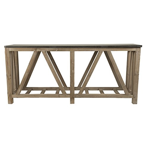 Bluestone Console Tables Pertaining To Well Known Amazon: Blue Stone Console Table: Kitchen & Dining (View 9 of 20)