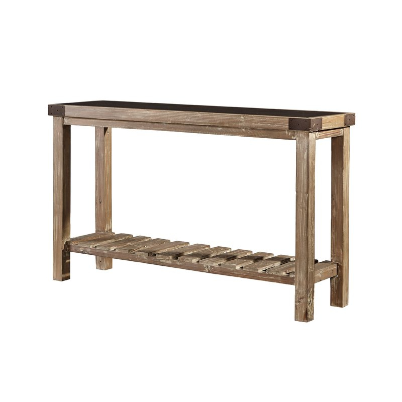Bluestone Console Tables Within Current Gracie Oaks Warkworth Bluestone Top Console Table (Gallery 7 of 20)