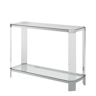Brahm Glass Console Table In 2018 (Gallery 15 of 20)