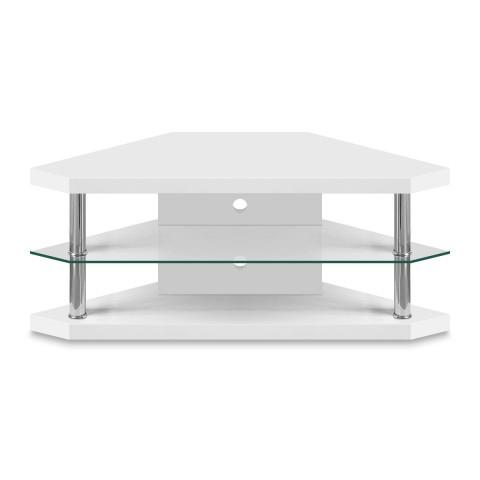 Bravo Corner Tv Stand – Atlantic Shopping For Most Popular White Corner Tv Cabinets (Gallery 8 of 20)