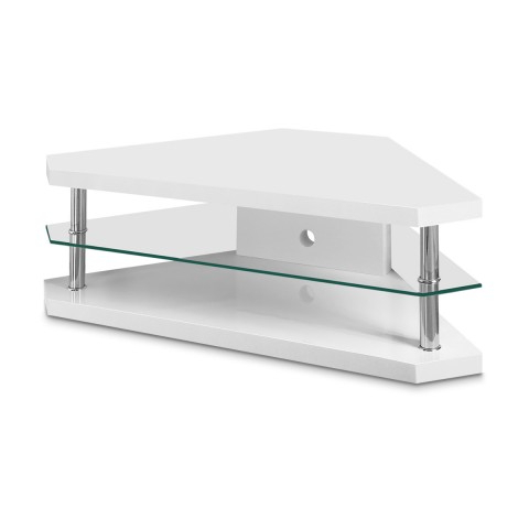 Bravo Corner Tv Stand – Atlantic Shopping In Newest High Gloss Corner Tv Units (View 3 of 20)
