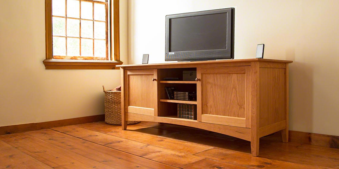 Brilliant Cherry Tv Cabinet Solid Wood Tv Stands Media Consoles Inside Preferred Maple Wood Tv Stands (Gallery 1 of 20)