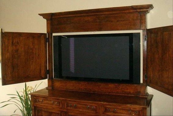 Brilliant Enclosed Tv Cabinet In Elegant Best Collection Of Cabinets With Well Known Enclosed Tv Cabinets With Doors (View 4 of 20)