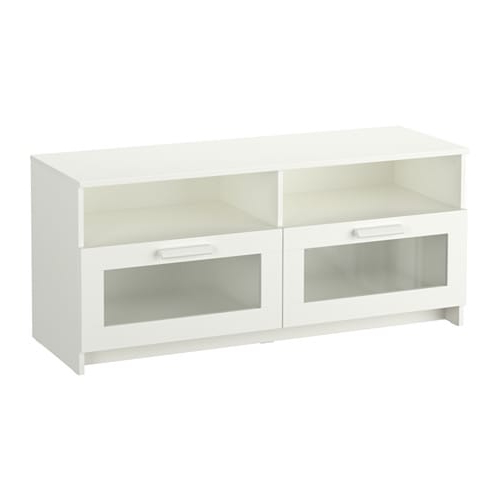 Brimnes Tv Unit – White – Ikea Throughout Most Current Ikea White Gloss Tv Units (View 6 of 20)