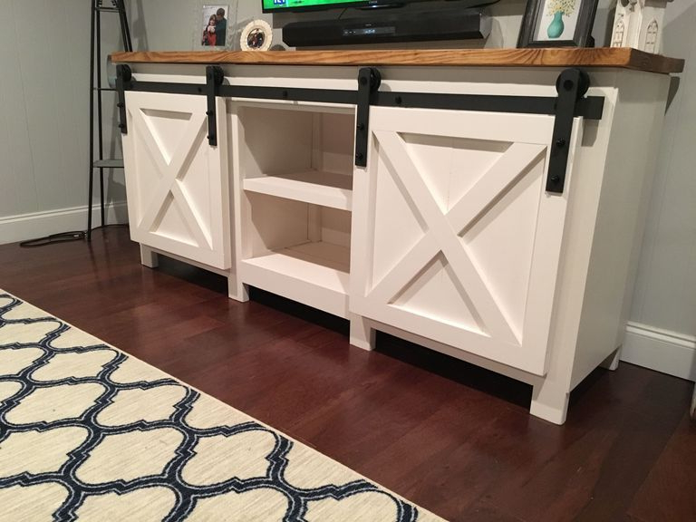 Build A Tv Stand Or Media Console With These Free Plans In  (View 1 of 20)