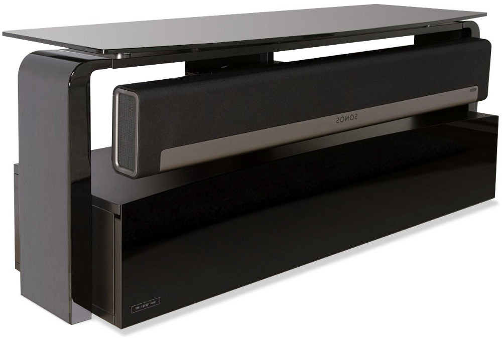 Buy Alphason As9001 Sonos Playbar Tv Stand – Black (View 8 of 20)