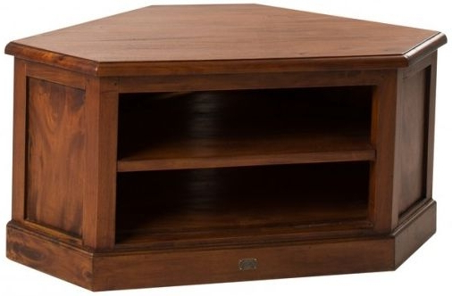 Buy Ancient Mariner Mahogany Village Low Corner Tv Unit Online – Cfs Uk Intended For Famous Wooden Corner Tv Units (View 1 of 20)