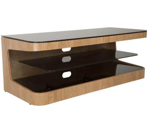 Buy Avf Up To 55 Inch Tv Stand – Oak At Argos.co.uk, Visit Argos (View 1 of 20)