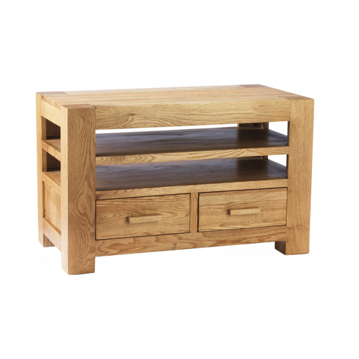 Buy Chunky Oak Tv Unit With Regard To 2018 Chunky Oak Tv Units (Gallery 2 of 20)