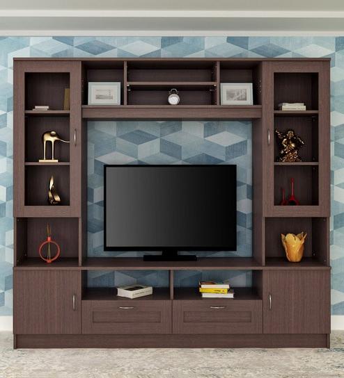 Buy Missouri Wall Tv Unit In Walnuthometown Online – Modern Tv Regarding 2018 On The Wall Tv Units (Gallery 12 of 20)