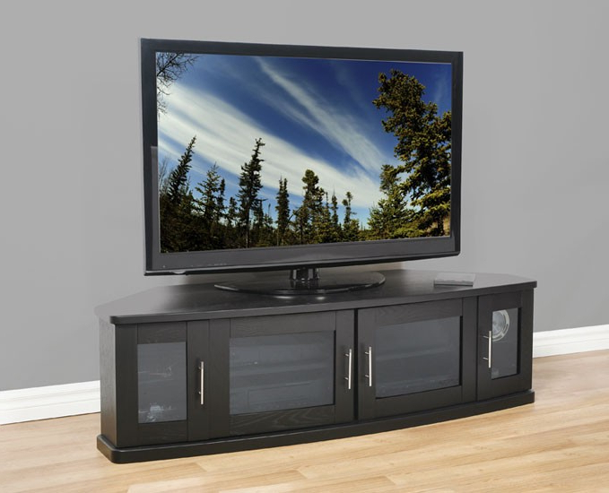Buy Newport 62 Tv Furniture Online – Plateaucorp With Best And Newest Tv Cabinets With Glass Doors (Gallery 4 of 20)