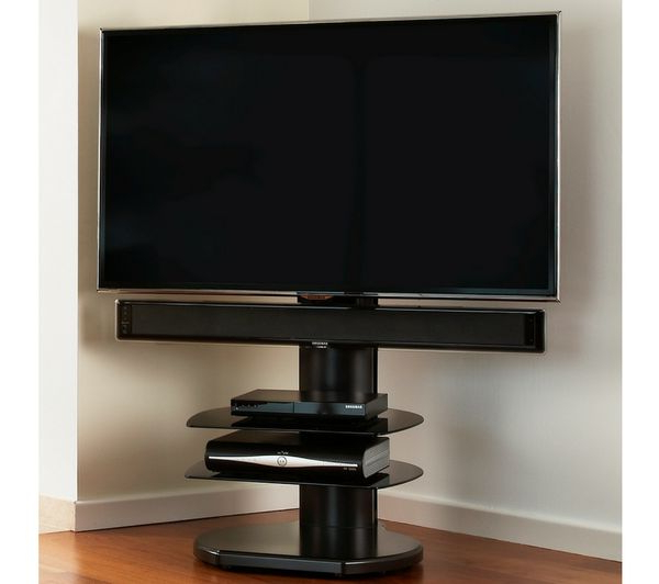 Buy Off The Wall Origin Ii S4 500 Mm Tv Stand With Bracket – Dark With Regard To Well Known Off Wall Tv Stands (View 3 of 20)