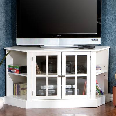 "Caden 63 Inch Tv Stands In Well Known Highland Dunes Galles Corner Tv Stand For Tvs Up To 65"" & Reviews (View 7 of 20)"