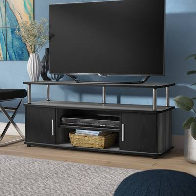 "Caden 63 Inch Tv Stands Intended For Most Recently Released Wade Logan Mendoza Tv Stand For Tvs Up To 50"" & Reviews (Gallery 12 of 20)"