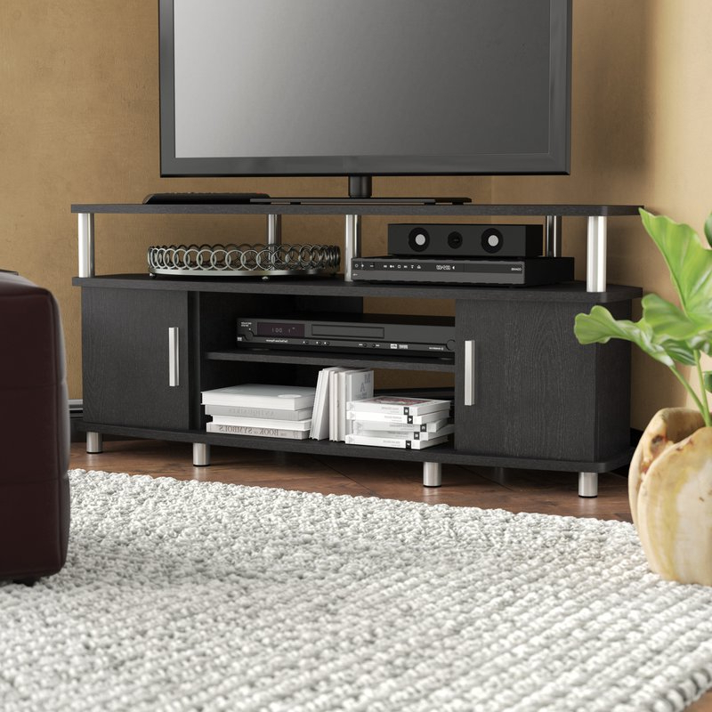 "Caden 63 Inch Tv Stands Within Most Popular Wade Logan Mendoza Tv Stand For Tvs Up To 50"" & Reviews (View 5 of 20)"
