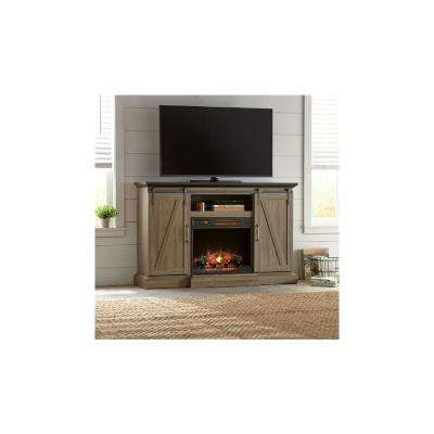 Canyon 64 Inch Tv Stands Throughout Newest Fireplace Tv Stands – Electric Fireplaces – The Home Depot (View 4 of 20)