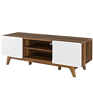 Canyon 74 Inch Tv Stands Pertaining To Widely Used Amazon: Modway Tread Mid Century Modern 59 Inch Tv Stand,  (View 7 of 20)