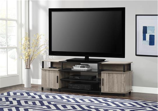 "Carson Tv Stand For Tvs Up To 70"", Distressed With Tv Stands For 70 Inch Tvs (View 4 of 20)"