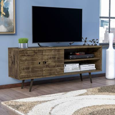 "Casey Umber 54 Inch Tv Stands In Trendy Langley Street Lauren Tv Stand For Tvs Up To 60"" & Reviews (Gallery 3 of 20)"