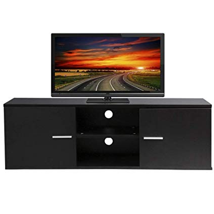 Casey Umber 54 Inch Tv Stands Inside Most Recently Released Amazon: Wood Tv Stand Storage Console, Tv Component Bench, Econ (Gallery 6 of 20)